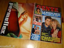 GENTE=1991/22=DALILA DI LAZZARO=ANGELA FINOCCHIARO=PRADELLO COLOMBO=SOFIA LOREN=