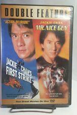 Jackie Chan 2-Pack(DVD,2005,2-Disc Set)First Strike/Mr.Nice Guy-Free S&H-Jackie