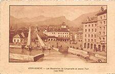 Br33186 Geneve les Boucheries de Longemalle et ancien Port switzerland
