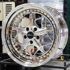 18x9.5 ARC AR2 5x114.3 +35 Platinum Rims Fits Mazda 3 6 Rx7 Rx8 Fusion Escape