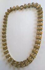 1890'S Rare Antique Victorian Gold 12K Gold Book Chain Necklace M8