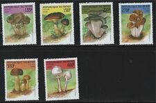 Benin SC 1055-1060 Colorful Mushrooms MNH 1998