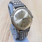 Vintage 1966 Timex Mens Gold Tone Hand-Winding Mechanical Watch Hours~Runs