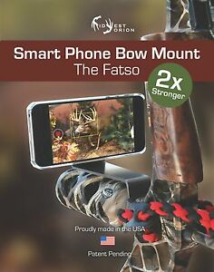 Camera Smartphone Archery Bow Phone Mount Holder For iPhone Samsung Gopro & More