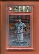 2017 TOPPS STADIUM CLUB YOAN MONCADA ROOKIE RC 10/25 MADE BGS 10 JERSEY NUMBER