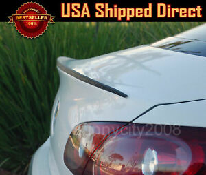 """47"""" Universal Carbon Textured Rear Trunk Deck Lip Spoiler Wing For BMW"""