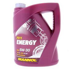 5 Liter MANNOL Energy 5W-30 MB 229.3 VW 502.00 505.00 A3 B3 Motoröl 5W30 SL