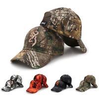 Mens Camouflage Baseball Cap Fishing Outdoor Hunting Jungle Hat Tactical Hiking
