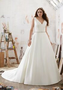 Mori Lee 3321 Size 20  GENUINE Wedding Dress 2021 collection Ivory New With tags