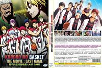Kuroko's Basketball (The Movie): Last Game ~ All Region ~ Brand New Factory Seal