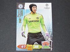 PETR CECH CHELSEA BLUES UEFA PANINI CARD FOOTBALL CHAMPIONS LEAGUE 2011 2012