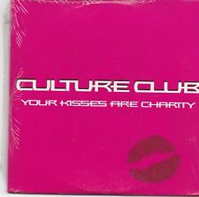 Culture Club-Your Kisses Are Charity promo cd single sealed