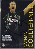 ✺Signed✺ 2014 2015 AUSTRALIAN Cricket Card NATHAN COULTER-NILE Big Bash League