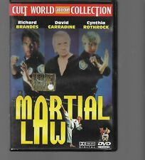 DVD MARTIAL LAW, ARTI MARZIALI CULT WORLD, COLLECTION LEGOCART