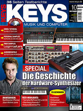 Keys 10 2015 mit DVD Hardware Synthesizer Personal Samples Audiobeispiele
