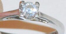 950 Platinum 1/4ct Forever Diamond Ladies Ring