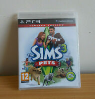 The Sims 3: Pets -- Limited Edition PS3 Sony PlayStation 3 New & Sealed