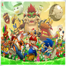 500 Pieces Super Mario Bros Bowser Wooden Puzzle Toy Jigsaw Puzzles Xmas Gift