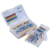 Elegoo 17 Values 1% Resistor Kit Assortment, 0 Ohm-1M Ohm (Pack of 525)