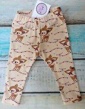NUOVO Little DEER tessuto BABY GIRL PRETTY Leggings Età 2-3 anni