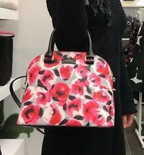 KATE SPADE GROVE STREET PRINTED CARLI BAG ROSE BED