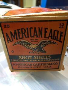 American Eagle 12 GA. Shot Shells Box
