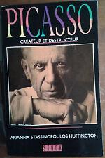 Picasso, créateur et destructeur - 1989, illustré