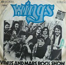 """7"""" 1975 KULT IN VG+! WINGS : Venus And Mars Rock Show"""