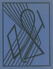 Linogravure signée César Doméla Jean Herbin Dewasne Aurélie Nemours Lithographie