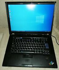 Laptop , T61 , 4GB RAM, T9300 CPU , good wifi , very large screen, 64GB SSD