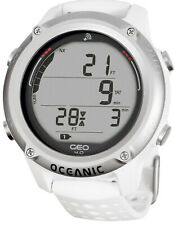Oceanic GEO 4.0 Dive Computer Scuba Wrist Watch White