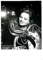 Opera - Autografo della cantante Laura Bocca (Teatro alla Scala di Milano)