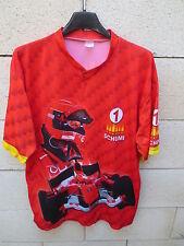 Maillot Formule 1 SCHUMACHER trikot maglia SCHUMI n°1 vintage shirt scuderia L