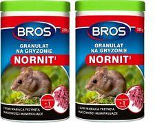 Granulate mole moles voles poison 2x250g  Quality Free  Delivery!