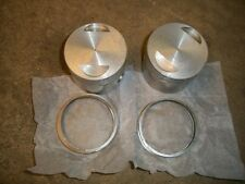 Norton Pistons & Rings .040 Commando 750cc 850cc ? RI
