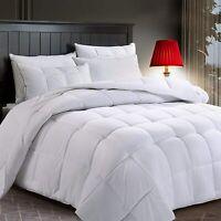 Premium 1800 Series Comforter -All Season- Goose Down Alternative-Hypoallergenic