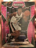 Brandon Clarke 2019-20 Panini Prizm Draft Pick Pink Pulsar Rookie Card #20 RC