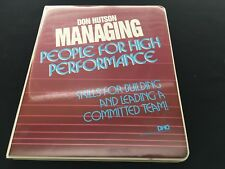 Don Hutson Managing People For High Performance Leading Teams Cassette Course