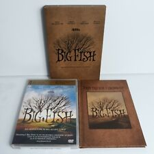 Big Fish A Tim Burton Film 2003 Complete With Book & Dvd Euc