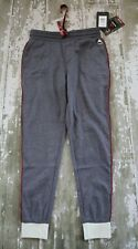 NWT BURTON Women's LUXEMORE Joggers Gray Fleece Pants Trocadero Gray Small