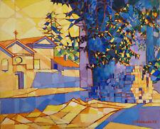 Jacques CHESNAIS (1907-1971) HsT 1958 Provence Constructivisme Ecole de Paris