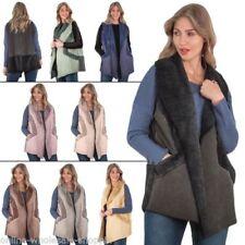 Abrigos y chaquetas de mujer polar de poliéster talla M
