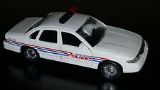 Road Champs Miami Beach Police Crown Victoria Diecast Car 1998 1:43 Scale