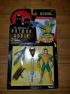 Batman and Robin Ras AL Ghul Kenner 1995 Action Figure Free Shipping Vintage