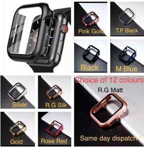 For Apple Watch 1-2-3-4-5-6 SE Matt /Silk Full Cover TEMPERED GLASS 38mm-44mm