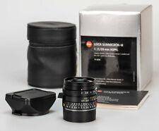 Leica Summicron M 1:2 28mm 11 604 ASPH 6bit // MINT 11604