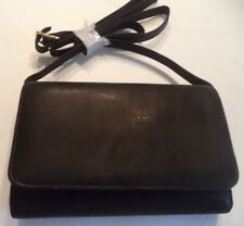Rolfs Ladies Genuine Leather Wallet on a String, Black