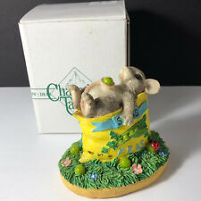 Charming Tails Figurine original box mouse mice seeds peas bubble bath limited