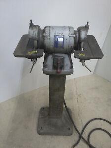 Baldor 510 1/2hp pedestal grinder 240 3ph 3450 RPM carbide/tool cutter