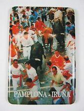Pamplona Magnet Spanien Souvenir Spain,7,5 cm,Kühlschrankmagnet